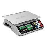 Báscula Comercial Digital Rhino Bar-10 60 Kg 110v Gris
