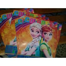 10 Libro Para Colorear Frozen 16 Paginas Tamaño Carta En Venta En
