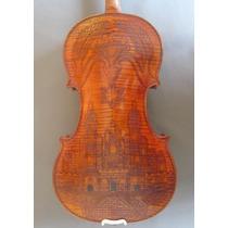 Hermoso Violín Artesanal Copia Stradivari Royal Castillo
