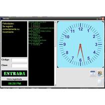 Software Reloj Checador De Asistencias
