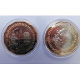 Moneda 20 Pesos Nueva 500 Años De Fundacion Veracruz