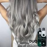 Duo Largo Y Platino Shampoo Crecimien Y Black Matiz Keratina