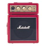Amplificador Marshall Micro Amp Ms-2 1w Transistor Rojo