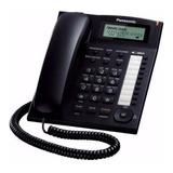 Teléfono Fijo Panasonic Kx-t7716 Negro