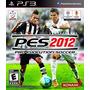 Pro Evolution Soccer Pes 2012 Ps3