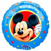 5 Globos Metalicos De Mickey Mouse 2 De 18 Pulgadas, Fiestas