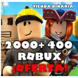 2000 Robux En Roblox ¡el Mejor Precio!