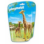 Playmobil 6640 Jirafa Con Cria Zoologico Animal Retromex