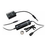 Micrófono Audio-technica Atr3350is Condensador Omnidireccional Negro
