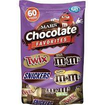 Mars Chocolate Caramelo Variedad Mix (twix Snickers Y M & M)