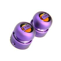 Set De 2 Mini Bocinas Portátil Estereo X-mini Max 2 Purple