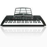 Teclado Musical Con Eliminador Microfono Y Metodo Gratis M1