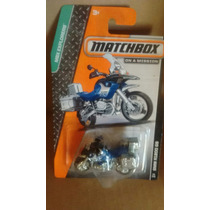 Matchbox Bmw R1200 Gs Azul