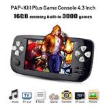 Consola Portatil Klll, Con 3000 Juegos, Salida A Tv, 16gb.
