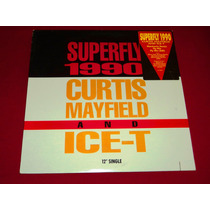 Curtis Mayfield & Ice-t - Superfly 1990 / Lp Imp Usa
