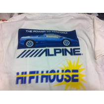 Alpine Amplificadores Car Audio & Security Playeras T-shirt