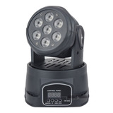 Par De Cabeza Movil Wash Led 7 Led 15w Disco Dmx Robotica