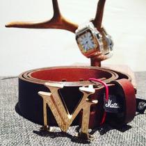 Cinto Mattia Vencchi Lv Gucci Hermes 100% Piel
