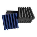 50 Pzas Panel Acústico Peine  30x30x5 Cm Enviograt