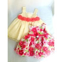 afb4a6f45 Dos Vestidos Para Bebe Niña De 3 6 Meses C envío en venta en Zapopan ...