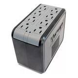 Regulador De Voltaje Vorago Avr-200 1400 8 Contactos Full