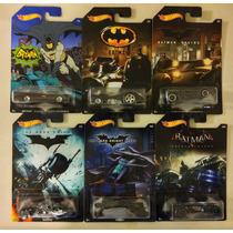 Hot Wheels Batman Coleccion Exlusivo De Walmart
