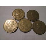 Monedas Sor Juana 1000 Pesos Serie Completa (5pzs)