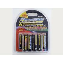 Paquete De 10 Baterias Aa Recargables Power2000 Xp-10aap