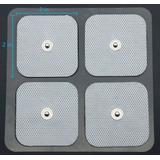 8 Elecrodos  Para Electroestimulador Pads Parches Rehusables