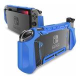 Funda Para Consola Nintendo Switch Y Mando Joy-con Azul
