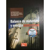 Balance De Materia Y Energía Procesos Industriales