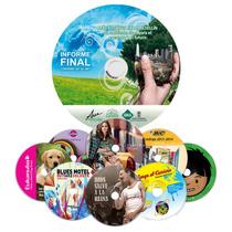 25 Impresion De Cd O Dvd, Incluye Disco, Impresion Y Quemado