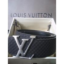 Cinturon Para Caballero Louis Vuitton Gamusa