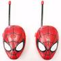 Radios Walkie Talkies Spider Man 2 Cortos