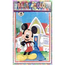 Bolsitas De Plastico Mickey Mouse 17x28cm (paq. 25 Piezas)
