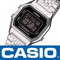 Casio Retro Vintage La680 Plata Dama / Acero Inoxidabable /