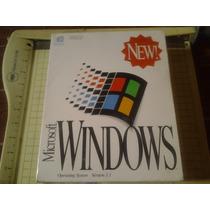 Windows 3.1 , Microsoft Nuevo Caja Sellada De Fabrica