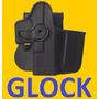 Funda O Holster Para Glock Con Porta Cargador