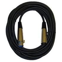 Cbi Mlc20 Low Z Xlr Micrófono Cable De 20 Pies