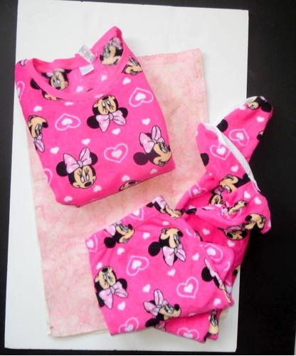 73ba1a188f Minnie Mouse Disney Pijama Polar Con Pantuflas M (reducida) en venta ...