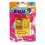 Paquete C/10 Pzs R-sim9 Pro Iphone 4s 5 5s Ios 7 Envio Grati