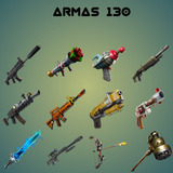 Armas 130 Full Perks - Fortnite Salva Al Mundo
