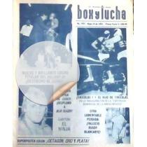 Revista Lucha Libre,canek Vs Blue Blazer Histórica!mascaras!