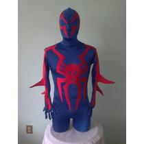 Traje Spider Man 2099, Licra, Disfraz Cosplay, Catsuits