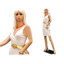 Maniqui Exhibidor Mujer Completo Plastico Incluye Base Fn4