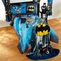 Edredón Individual Matrimonial Batman Nuevo Importado