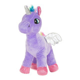Unicornio De Peluche King Regalo Juguete Coleccionable 28 Cm