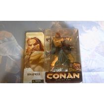 Set De 2 Figuras Conan Serie 1 Skifell Vs Conan Nuevos Mcfar