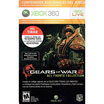 Xbox 360 - All Fronts Gears Of War 2 (mercado Pago Y Oxxo)