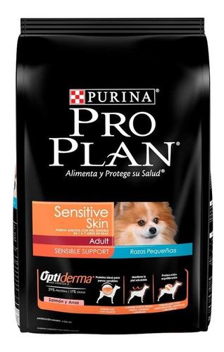 Alimento Pro Plan Sensitive Skin Perro Adulto Raza Pequeña Salmón/arroz 7.5kg